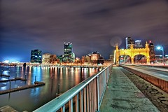Smithfield St. Bridge and Pittsburgh Skyline HDR (Dave DiCello) Tags: beautiful skyline photoshop nikon pittsburgh tripod nikkor hdr highdynamicrange cec cs4 mellonarena steelcity photomatix beautifulcities pittsburghpenguins yinzer cityofbridges tonemapped theburgh smithfieldstbridge pittsburgher cs5 beautifulskyline d700 thecityofbridges coloreffex pittsburghphotography consolenergycenter davedicello pittsburghcityofbridges steelscapes beautifulcitiesatnight hdrexposed picturesofpittsburgh cityofbridgesphotography