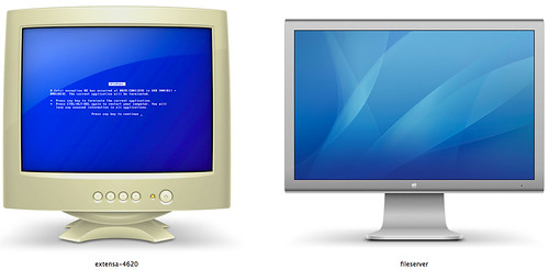 MAC OS X 10.6.X 共享 Share MAC vs PC XD