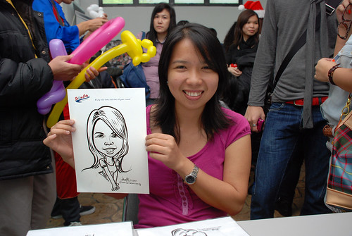 Caricature live sketching for Snow City - Day 5 - 3