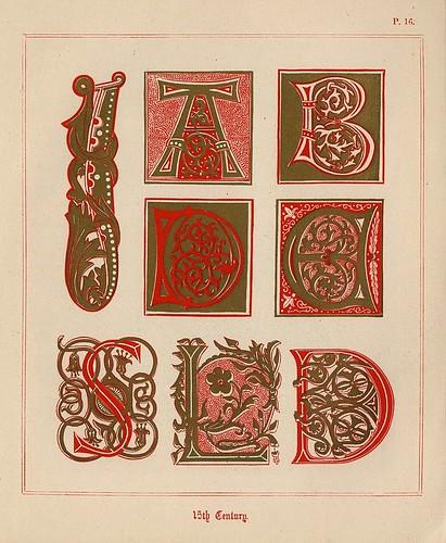 010- Medieval Alphabets and Initials 1886- F.G. Delamotte- Copyright 2006 illuminated-book.com& libros-iluminados.com