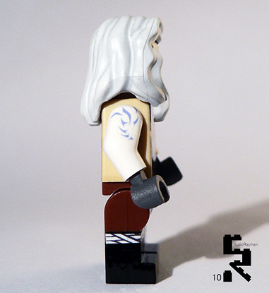 Jarael  custom minifig Side