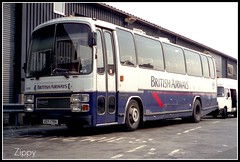Late build Viewmaster (Zippy's Revenge) Tags: man coach tiger express ba transfer britishairways viewmaster leyland manchesterairport egcc plaxton c312 voy179x