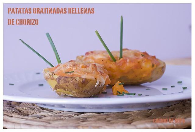 Patatas gratinadas rellenas de chorizo_1