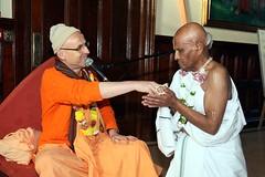 His Holiness Kadamba Kanana Swami - Initiations - Bhaktivedanta Manor - 09/01/2011 - IMG_3128