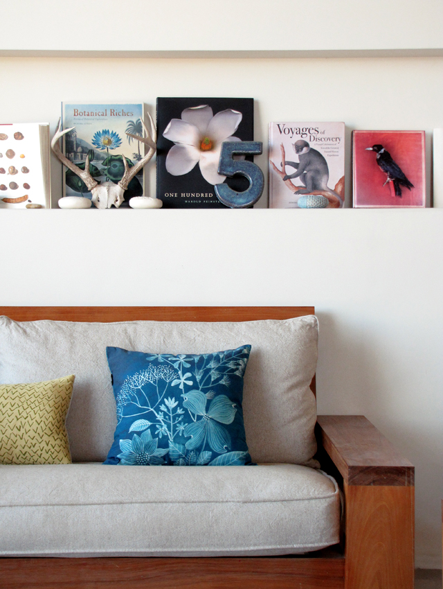 Cyanobird Pillow At Home