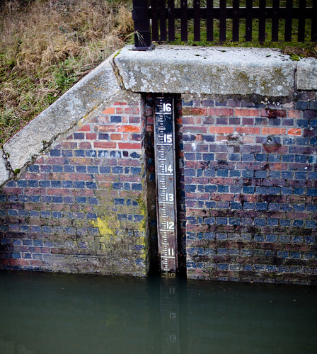 Benson lock downstream guage