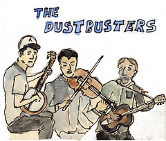 The Dust Busters 1st album cover