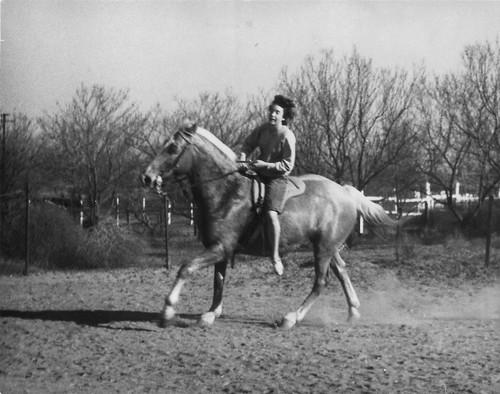 Darlene riding