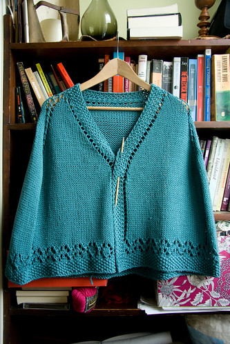 LouLou's Kickin' Comfort Shawl Front