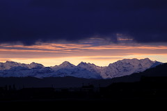 Sonnenaufgang - Sunrise auf der g.rossen S.chanze in der Stadt Bern im Kanton Bern der Schweiz (chrchr_75) Tags: hurni christoph schweiz suisse switzerland svizzera suissa swiss kanton bern berne berna bärn kantonbern stadtbern citybern sonnenaufgang sunrise alpen alps berge mountains clouds wolken chrchr chrchr75 chrigu chriguhurni 1101 gspaltenhorn berg mountain berner oberland berneroberland chriguhurnibluemailch januar 2011 januar2011 albumzzz201101januar hurni110112 albumgspaltenhorn