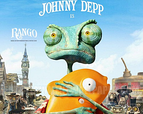 Rango Movie Wallpaper