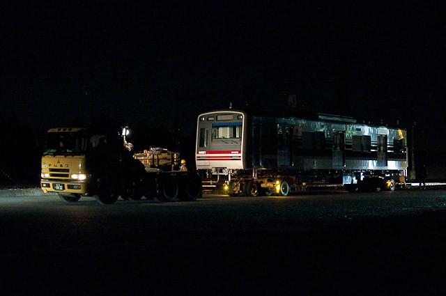 新京成N800形 N828F モハN821 モハN822 陸送