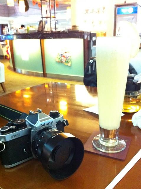 Nikon FM2+ZF 50mm F1.4+柯達400nc試拍