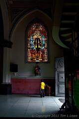 A Quiet Moment | Manizales (Tim L Lowe) Tags: church dark nikon colombia manizales hdr sanctuary d90 sagradocorazondejesus losagustinos