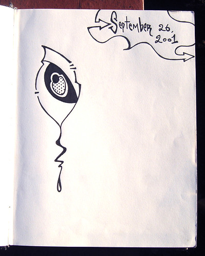 Sketchbook #8 2001-2002
