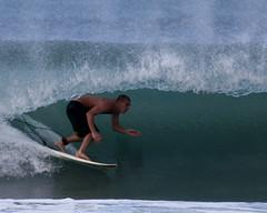 Green Room (justtakenpictures) Tags: ocean beach water hawaii waves surfing kauai surfers pinetrees hanalei justtakenpictures