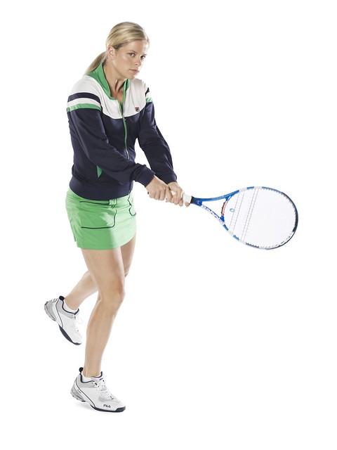 2011 Australian Open: Kim Clijsters Fila outfit