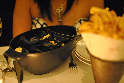 my first love (and moule frites)