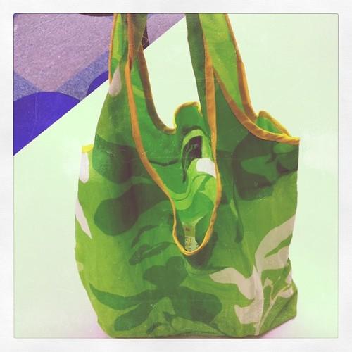 マイバッグを使いました。