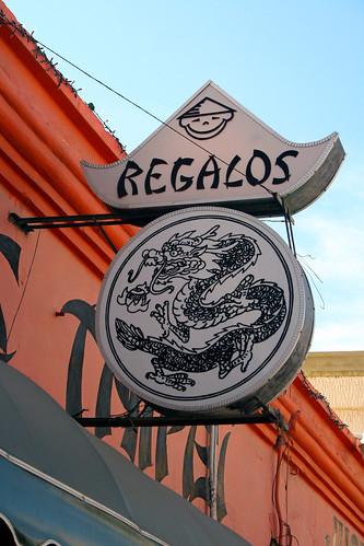 La Paz - Gift Shop Sign