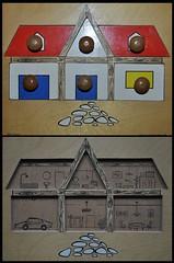 Vintage Dolls House Jigsaw Puzzle (redrickshaw) Tags: house wooden rooms puzzle jigsawpuzzle madeinbelgium didago