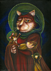 My Madonna Cat acrylic painting (TaraFly) Tags: christmas kids cat painting children acrylic child madonna mother halo kittens litter holy bible christianity spiritual virginmary renaissance nativity blessed robes anthropomorphic religioushumor
