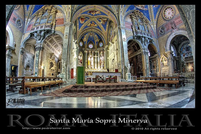 Roma - Santa María Sopra Minerva - Altar