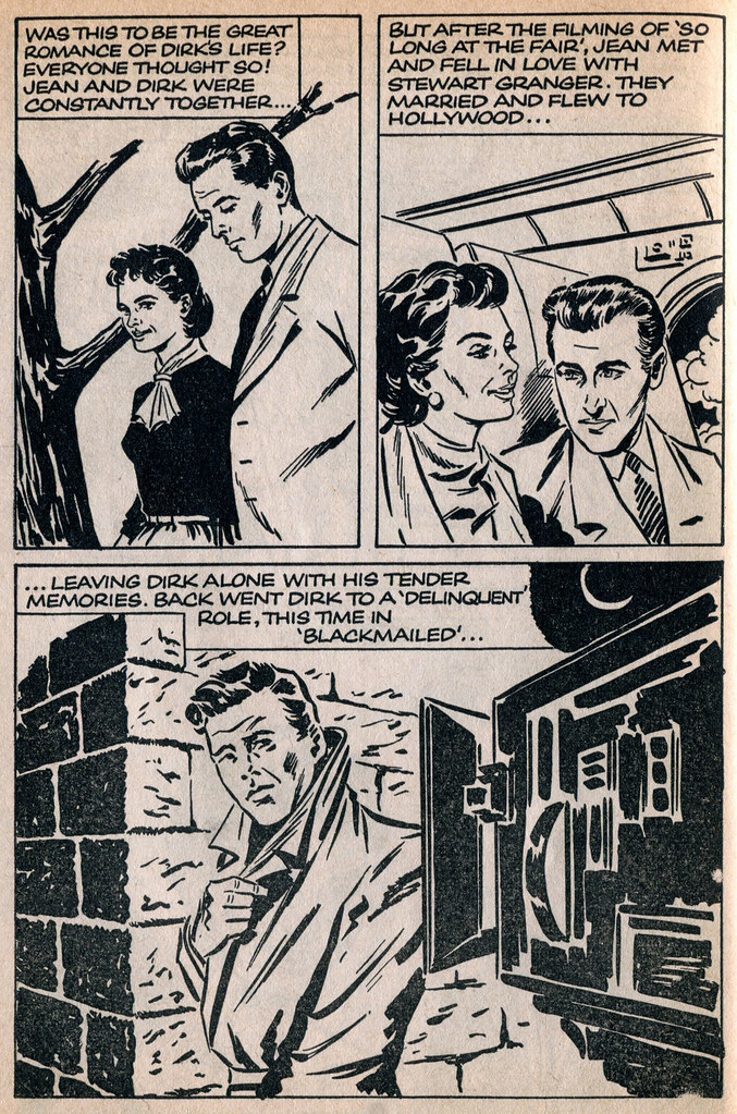 Dirk Bogarde comic 17