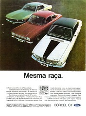 1969 Ford Corcel GT (Brazil)
