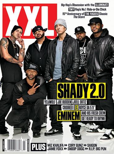 shady 2.0 Eminem Slaughterhouse Yelawolf XXL MAGAZINE COVER