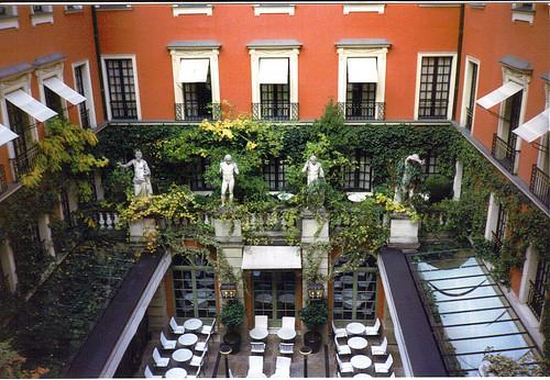 Hotel Costes - Terraza