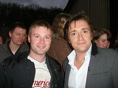Me and Richard Hammond (Sheriff Ads) Tags: uk cars television james tv track slow top may gear jeremy racing surrey richard bbc captain hamster driver series hammond tame stig clarkson jezza