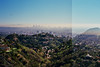 Oh LA (aLpEr K) Tags: california trees sky losangeles downtown hills freeway mulhollanddrive