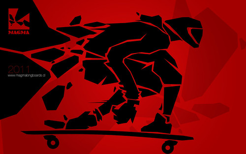 longboard wallpaper. MAGMA - wallpaper 02