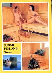 Finland sauna (S_Crews) Tags: finland postcard sauna
