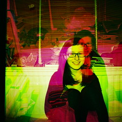 clare (i was a tree in a past life.) Tags: life pink light two tree green film girl 35mm vintage square fun was glasses crazy cool lomo lomography exposure clare bright rebecca flash mini clash double diana doctor becky blinds format colourful trippy psychedelic past gels teenage doubles i enrose iwasatreeinapastlife rebeccadoctor beckydoctor
