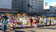 University Medical Center - Shrine for tragedy victims