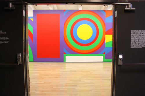 sol lewitt exhibit at MASS MoCA