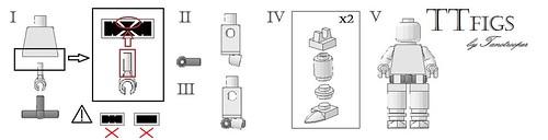 Custom minifig TTfigs instructions