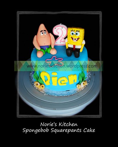 Norie's Kitchen - Spongebob Squarepants cake