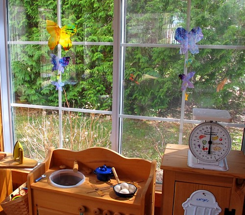 sunroom butterflies