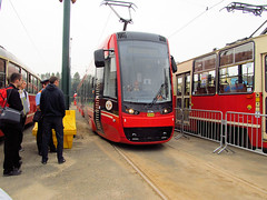 """Pesa """"Twist-Step"""", #844, Tramwaje lskie (transport131) Tags: tram tramwaj bdzin kzk gop t pesa 2012 twiststep"""