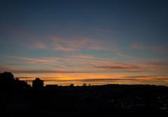 September light (S's images) Tags: brixham evening sun setting birds blue orange black sky september autumn