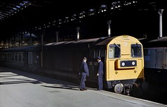 Awaiting the Off (SydPix) Tags: diesel trains locomotive railways class20 hullparagon 20133 sydyoung