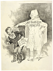 Untitled Cartoon. [Anti-Third Term Principle], 10/01/1912