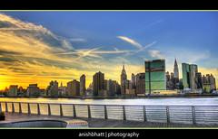 CityScape (Anishbhatt1) Tags: sunset newyork skyline eastriver hdr challengeyouwinner thechallengefactory