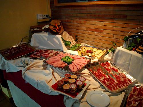 Desayuno Hospedería Parque de Monfragüe