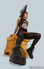 SHEA 5 Konformity Clothing (PUNKassPHOTOS.com) Tags: street black tattoo crust clothing punk boots piercing punkrocker mohawk punkrock heels gutter punx oi miniskirt pantyhose stud pogo punks platforms houndstooth sheer punker braclet punkass docmartins punkassphotos pikespeakderbydames candysnipers dangerdolls konformity rottenbeatertail