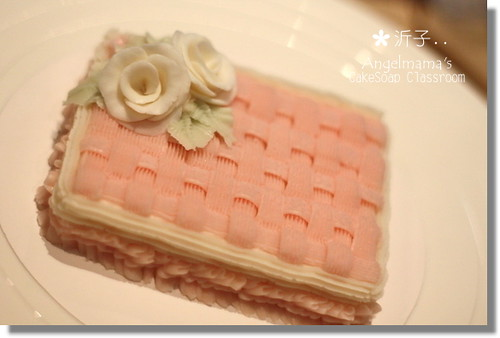 天使媽媽蛋糕皂教學沂子3
