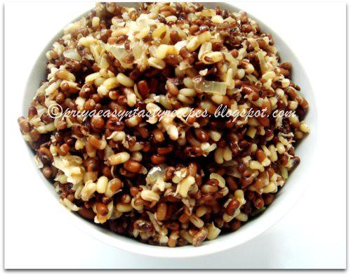 Masala Moth Beans Sundal